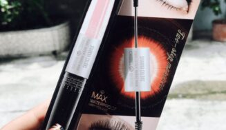 Review Chuốt mi 2 đầu Mascara Color Two-Step nhà Sivanna